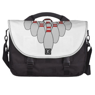 Ten Pin Bowling Laptop Commuter Bag