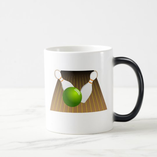 Ten Pin Bowling Magic Mug