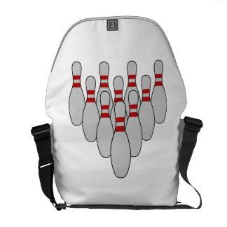 Ten Pin Bowling Messenger Bag