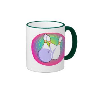 Ten Pin Bowling Ringer Coffee Mug