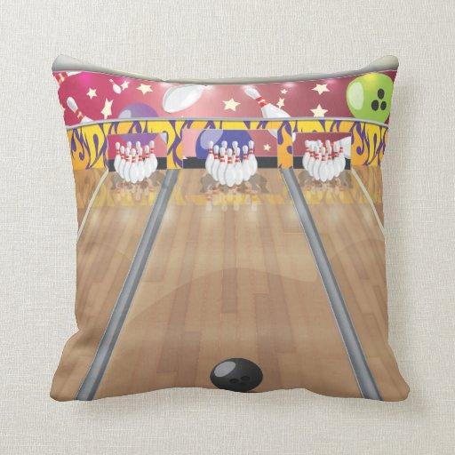 Ten-pin bowling pillow