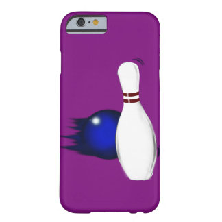 Ten Pin Bowling Pin and Ball Sport Design Barely There iPhone 6 Case