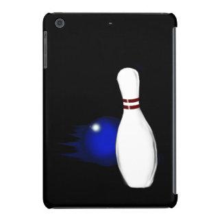 Ten Pin Bowling Pin and Ball Sport Design iPad Mini Retina Covers