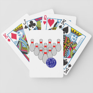 Ten Pin Bowling Playing Cards
