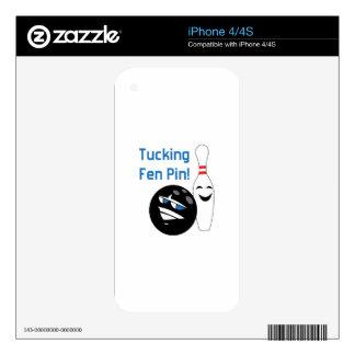 TEN PIN SKIN FOR THE iPhone 4