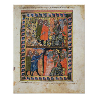 Ten Plagues of Egypt TtoB; the Plague of Poster