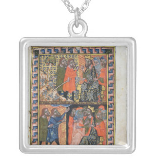 Ten Plagues of Egypt TtoB; the Plague of Silver Plated Necklace