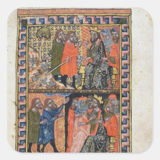 Ten Plagues of Egypt TtoB; the Plague of Square Sticker
