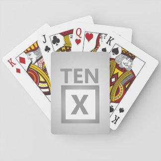 Ten Playing Cards