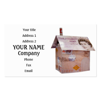 Ten pound house Double-Sided standard business cards (Pack of 100)