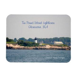 Ten Pound Island Lighthouse Magnet