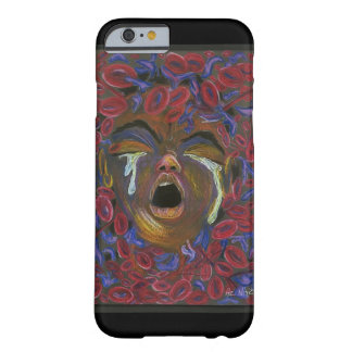 Ten Redefined - Sickle Cell Art by Nazaire Barely There iPhone 6 Case