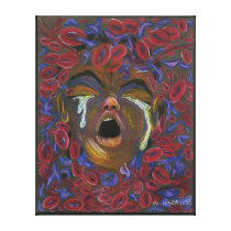 Ten Redefined - Sickle Cell Pain Awareness Canvas Print