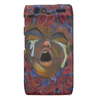 Ten Redefined - Sickle Cell Pain Awareness Motorola Droid RAZR Covers