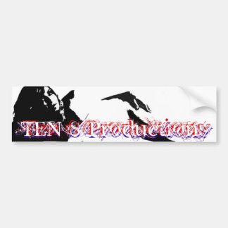 TEN S Productions, mkr lady Car Bumper Sticker