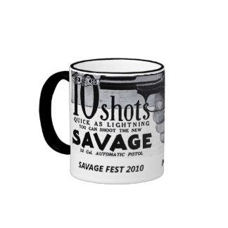 Ten shots quick ringer mug