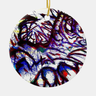 Ten Thousand Pounds of Pain Ceramic Ornament