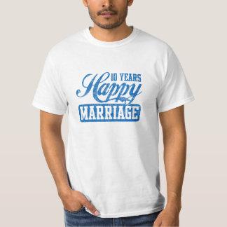 Ten Years Happy Marriage T-Shirt
