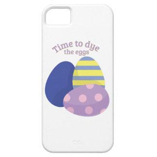 Teña los huevos iPhone 5 Case-Mate cárcasas