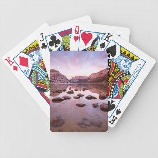 Tenaya Lake Bicycle Playing Cards
