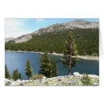 Tenaya Lake in Yosemite National Park Card