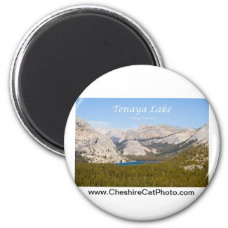Tenaya Lake Yosemite California Products Magnet