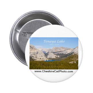 Tenaya Lake Yosemite California Products Pinback Button