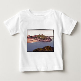 Tenby Castle Wales Vintage Photo Baby T-Shirt