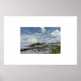 Tenby; Pembrokeshire; Póster