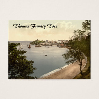 Tenby, Pembrokeshire, Wales Business Card
