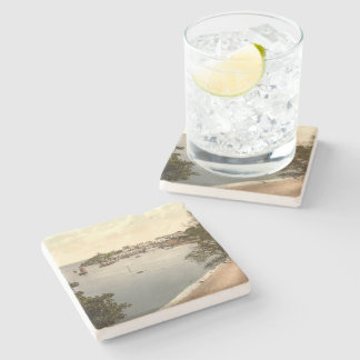 Tenby, Pembrokeshire, Wales Stone Coaster