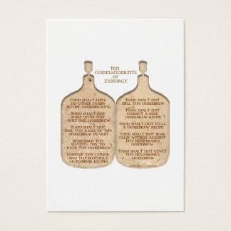 TenCommandments Business Card