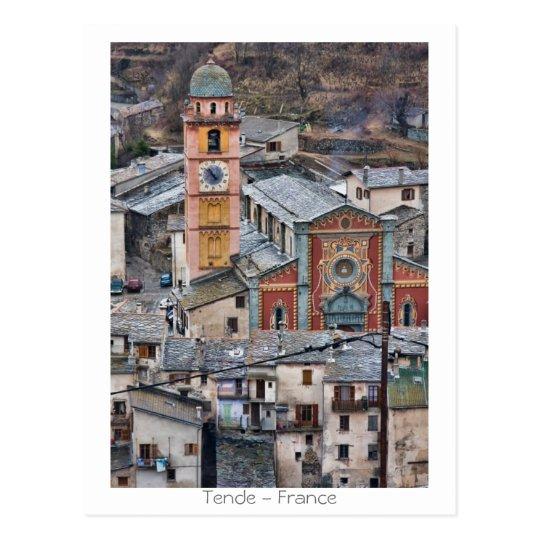 Tende - France Postcard