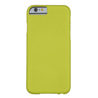 Tendencia antigua del color del amarillo 2015 del funda para iPhone 6 barely there