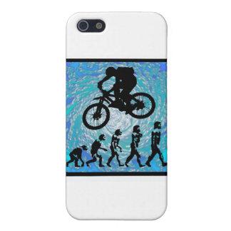 TENDENCIA ESCARPADA de la bici iPhone 5 Protectores