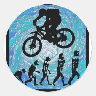 TENDENCIA ESCARPADA de la bici Etiqueta