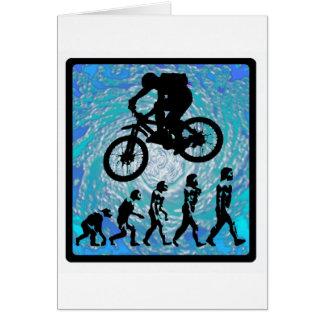 TENDENCIA ESCARPADA de la bici Tarjeta