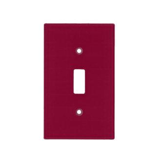 Tendencia roja del color de Borgoña 2015 del Cubierta Para Interruptor