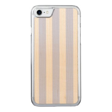 Beach Themed Tender Baby Blue Pale Sky Blue and White Stripe Carved iPhone 7 Case