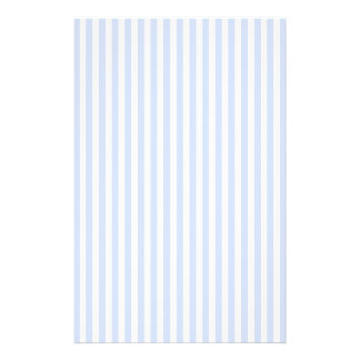 Tender Baby Blue Pale Sky Blue and White Stripe Flyer