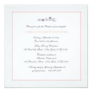 Tender Branch Pink Invitation