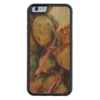 Tender coconuts in a pile carved cherry iPhone 6 bumper case