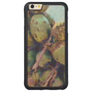 Tender coconuts in a pile carved maple iPhone 6 plus bumper case