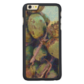Tender coconuts in a pile carved maple iPhone 6 plus case