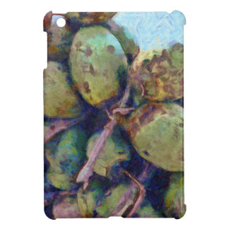 Tender coconuts in a pile cover for the iPad mini