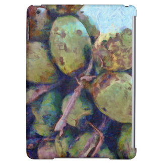 Tender coconuts in a pile iPad air case