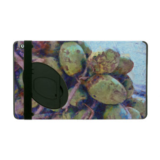 Tender coconuts in a pile iPad cases