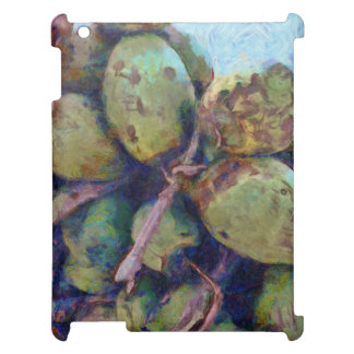 Tender coconuts in a pile iPad covers