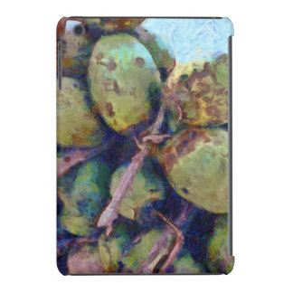 Tender coconuts in a pile iPad mini cover