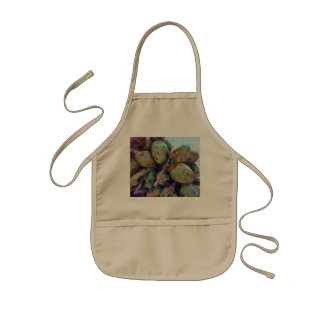 Tender coconuts in a pile kids' apron
